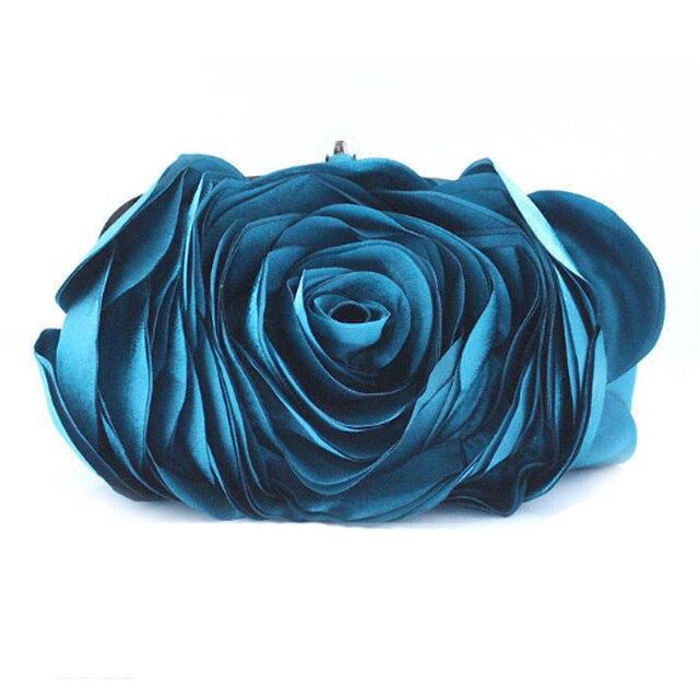Best Brand Gift 2016 Fashion Evening Bag Women Flower Bride Clutch Purse Dress Party handbag Wedding Clutch Ladies Bags XA766B