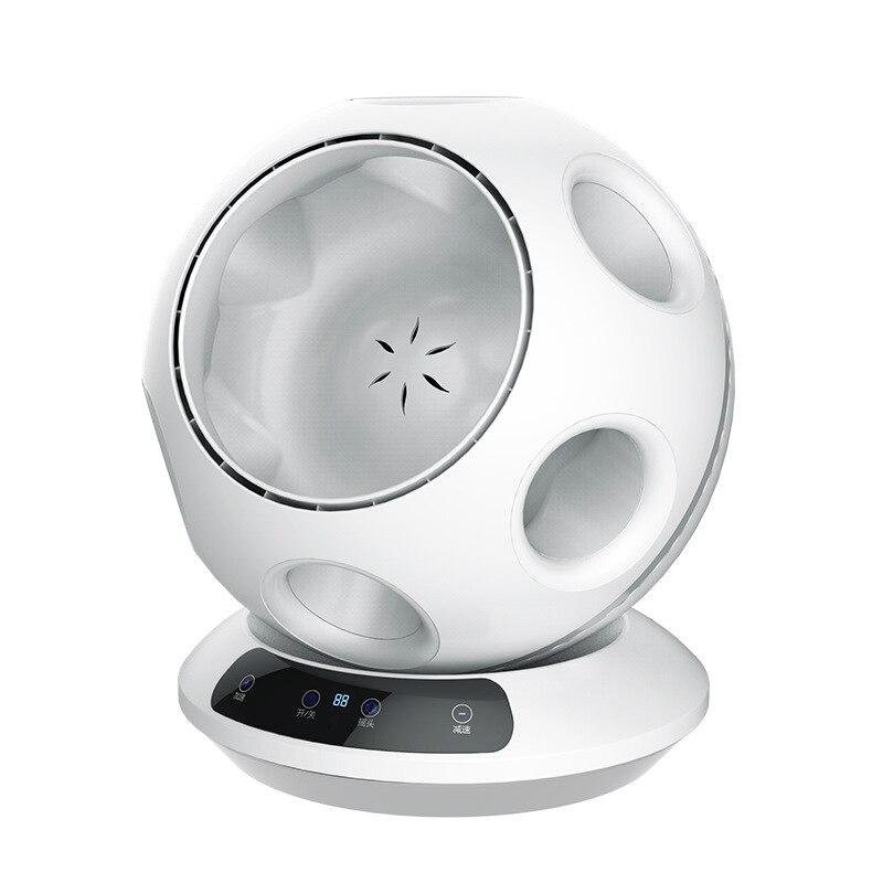 Ultra-silencieux Super économie d'énergie ventilateur sans lame télécommande Football forme bureau ventilateur 8 vitesses Air Circulation ventilateur purificateur d'air