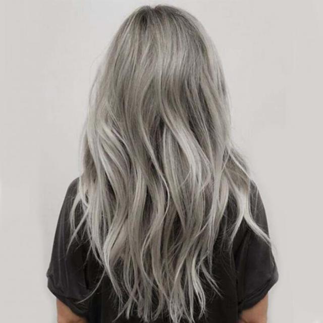 Smoky Gray Punk Style Permanent Hair Dye Color Cream 100 ml