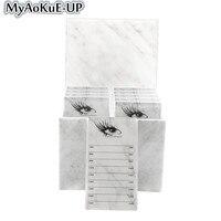 Makeup Eyelashes Storage Box Tools 10 Layers Acrylic Pallet Lash Holder Individual lash Volume Display Stand Eyelash Extension