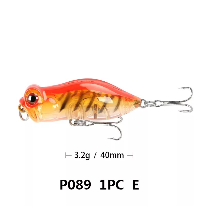 1 pieces insects fishing lure 4cm 3 2g fishing baits bass cicada iscas artificially para pesca fishing tackle in Fishing Lures from Sports Entertainment