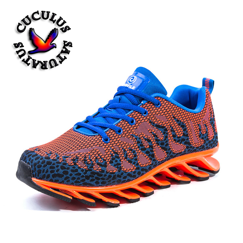все цены на men cushioning running shoes Running Shoes Sports for Runner Athletic Sneakers Men Outdoor Mesh Breathable Shoes 1709 онлайн