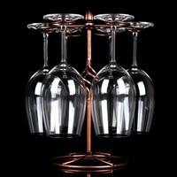 De metal Retro Acessórios de Garrafa De Vinho Rack de Copo de Café de Vidro-Copos Coisas Engraçadas Para Suporte para Garrafa De Vinho Pendurado Copo De Vinho Barra de cremalheira