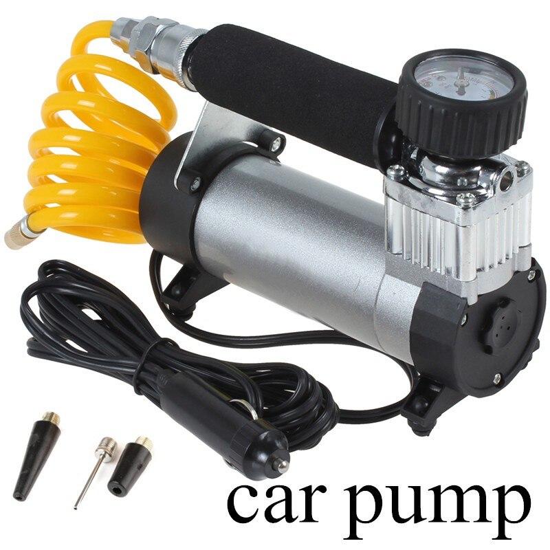 Livraison gratuite voiture compresseur d'air voiture gonfleur Portable Super débit voiture pompe 100PSI Auto pneu gonfleur/voiture compresseur d'air