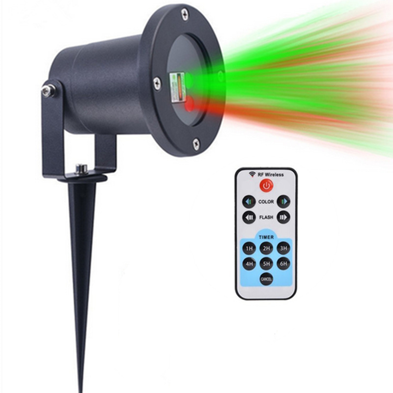 Christmas Laser Outdoor Projector lighting Remote Control Party Landscape IP65 Waterproof Red Green Laser Lighting
