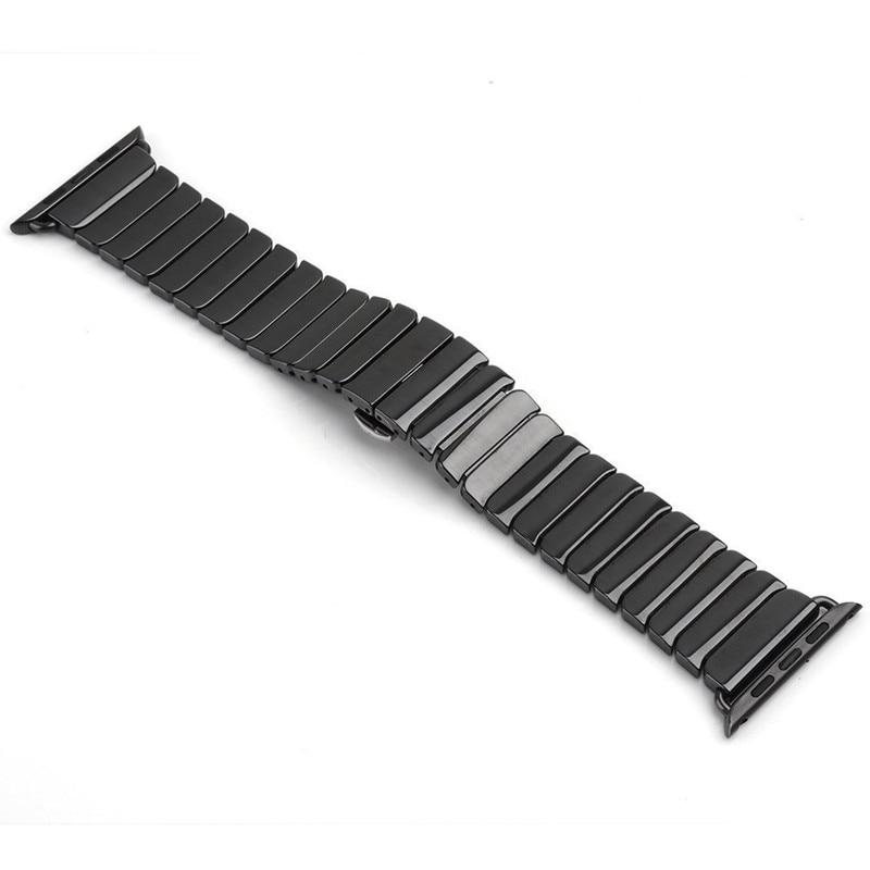 Pulseira do relógio Pulseira de Cerâmica para Apple Band