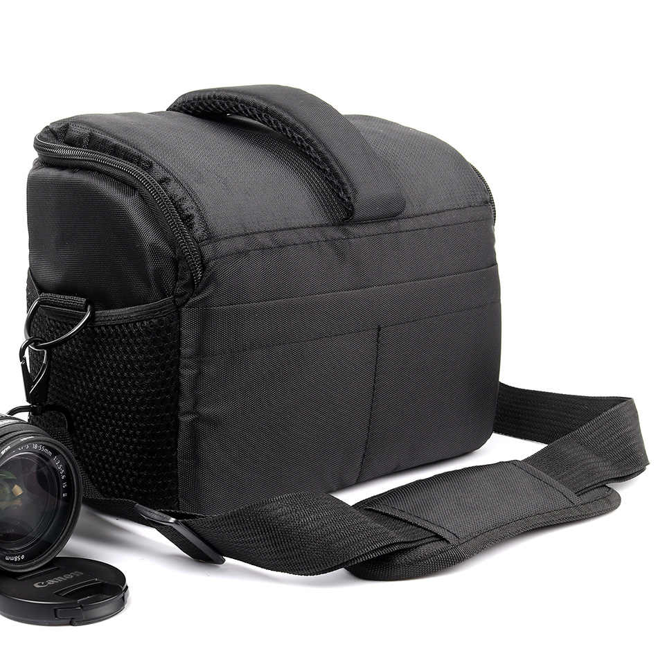 Waterproof DSLR Camera Bag SLR Shoulder Bag For Canon Camera Nikon Sony alpha Bag Panasonic Fujifilm Olympus Photo Backpack Case