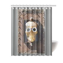 NANAZ Custom Steampunk Skull Pirate Bathroom Waterproof Fabric 60x72 Inch  Shower Curtain