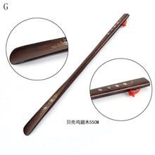 Профессиональный деревянный рожок для обуви с гибкой длинной ручкой, рожок для обуви, полезный подъемник для обуви, профессиональные ложки для обуви, инструменты для дома