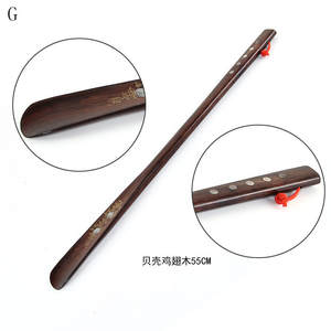 Shoe-Horn Wooden Long-Handle Home-Tools Useful Professional Flexible