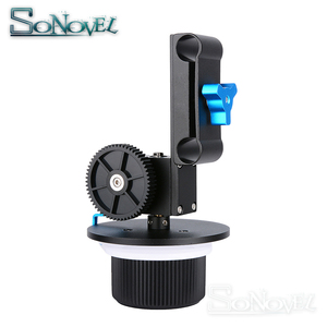 Image 2 - Accurate Focusing Follow Focus F1 with Gear Ring Belt for Canon Nikon Sony Lens DSLR Camera and Camcorder for 15mm Rod Rig