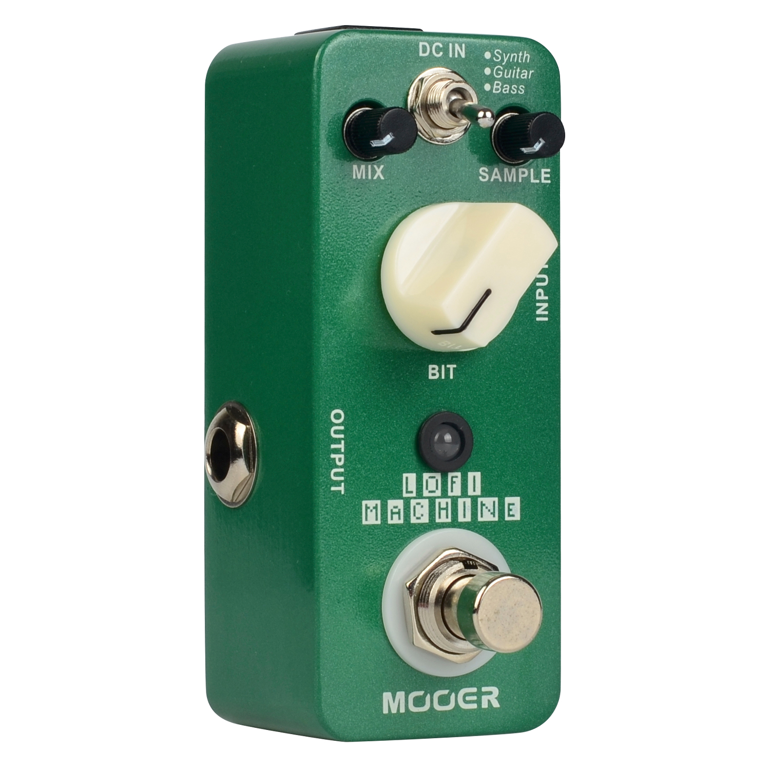 Mooer Lofi Machine Electirc Guitar Effects Pedal True Bypass Metal Shell Sample Reducing MSE1 mooer lofi machine sample reducing electric guitar effects pedal true bypass with free connector and footswitch topper