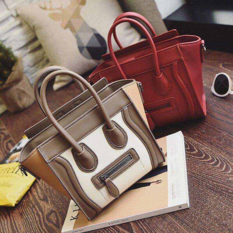 Leather Handbags Women Crossbody Tote Shoulder Messenger Bags Famous Brands Luxury Designer For 2018 Bolsas Feminina Sac Mujer