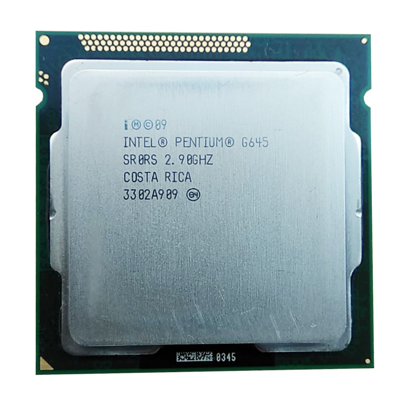 Intel Pentium G645 CPU/3M 2.90 GHz LGA 1155 TDP 65W H61 B75 81 B85 Motherboard Original Motherboard Pentium Dual Core Cpu
