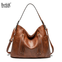 купить BRIGGS Handbags For Women High Quality Shoulder Bag Female Crossbody Messenger Bag Ladies Fashion Tote PU Leather Bag Women по цене 1549.47 рублей