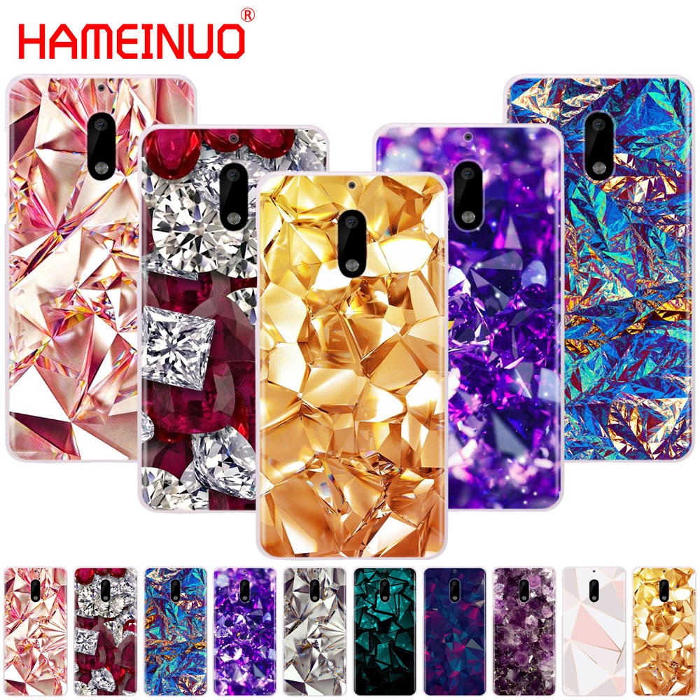 HAMEINUO Crystal Diamond Cover Phone Case For Nokia 9 8 7 6 5 3 Lumia 630 640 640XL 2018