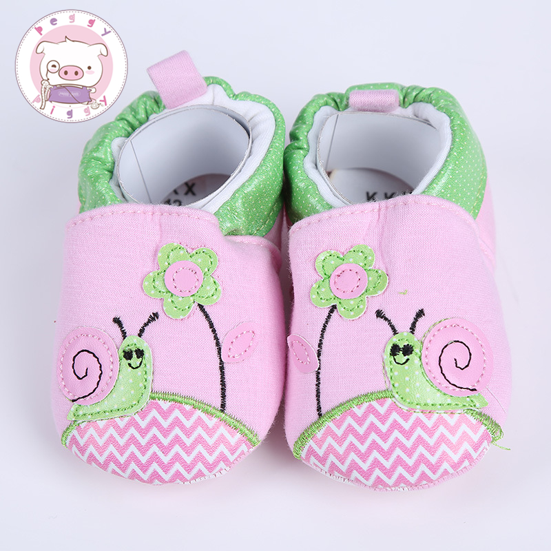 PEGGY PIGGY Sweet Newborn Baby Girls Princess Bowknot Winter Warm First Walkers Soft Soled Infant Toddler Kids Girl Cack Shoes