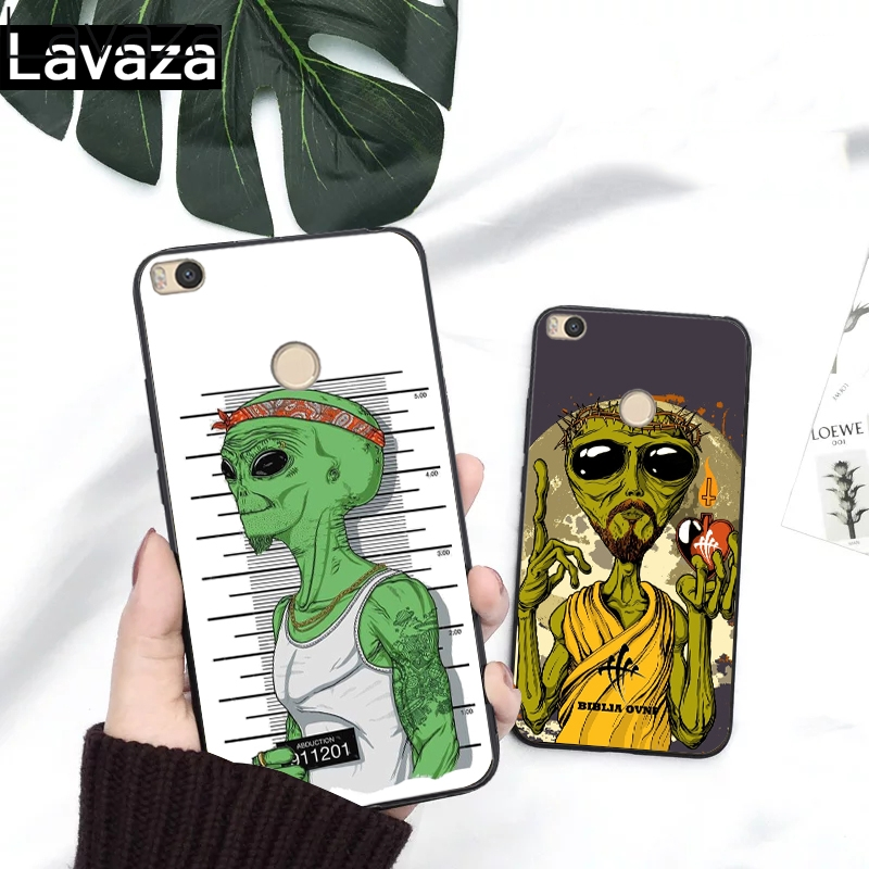 Lavaza Alien Believe UFO ET cute Emoji Silicone Case for Redmi 4A 4X 5A S2 5 Plus 6 6A Note 4 Pro 7 8 k20 Prime Go in Fitted Cases from Cellphones Telecommunications