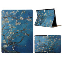 Tab S T800 Fashion Painted Flip PU Leather Case For Samsung Galaxy Tab S Smart Case