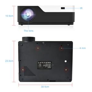 Image 4 - TouYinger M18 العارض كامل HD ، الأصلي 1080p 5500 التجويف ، خيار أندرويد ، LED عارض فيديو المسرح المنزلي كامل HD فيلم متعاطي المخدرات