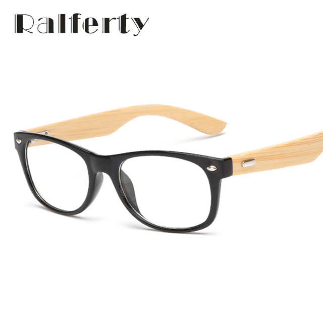 4fb9dfbea2 Ralferty Small Gold Wood Glasses Frames Bamboo Eyeglass Optical Frame Eye  Glasses For Women Men Spectacle
