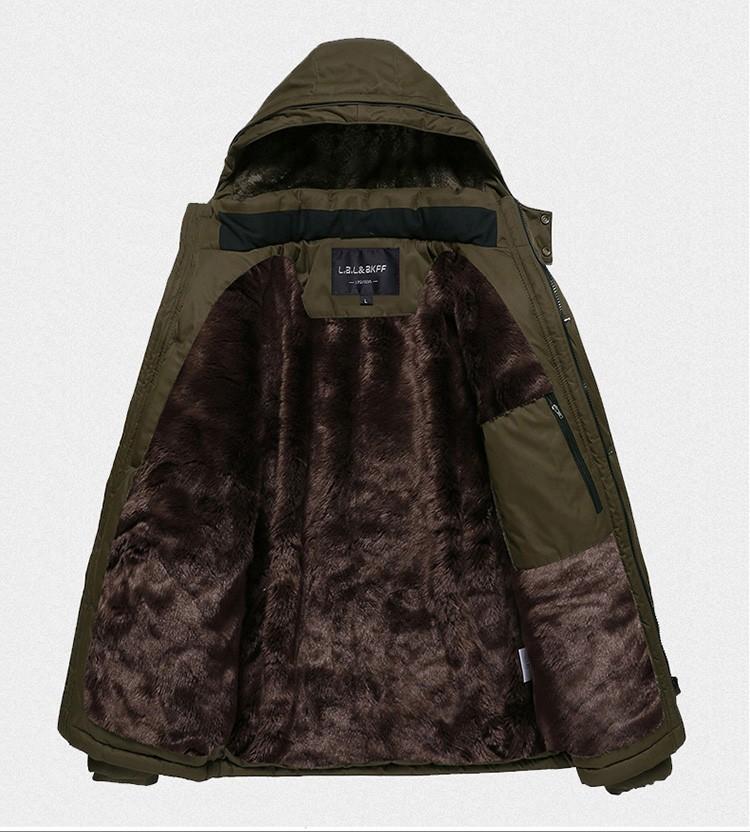 HTB1kV00LXXXXXcXXFXXq6xXFXXX5 - В новая зимняя куртка Для мужчин плюс плотный бархат теплая куртка Для мужчин повседневная куртка с капюшоном Размер l-4xl5xl