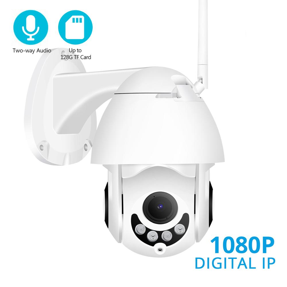 BESDER Full HD 1080P WiFi PTZ IP Camera Two Way Audio Wireless Outdoor Waterproof Speed Dome