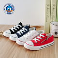 Solid Color Canvas Shoes White Red Black Blue Children Sport Shoes Side Zipper Flats Zapatos Deporte Casual Boys Girls Shoes New