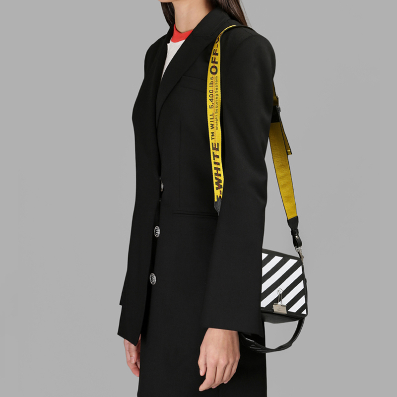 2017 SS Brand Women's Bag Oblique Stripes Cow Leather Flap Messenger Bag Causal Versatile Hasp Shoulder Straps Bag BWB1420-2