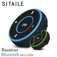 SITAILE Mini Wireless Car Bluetooth Receiver AUX Music Stereo Audio Adapter 3.5mm Aux Jack for Headphone Speaker 3 Colors(China)