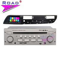 TOPNAVI Wince 6.0 7Inch Double Din Car Multimedia DVD Auto Player For Citroen C5 Stereo GPS Navigation Audio Magnitol FM USB