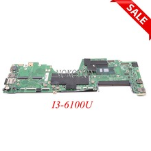 NOKOTION 00NY939 AIZS1 LA-C581P для lenovo ThinkPad yoga 260 12,5 дюймовый ноутбук материнская плата SR2EU I3-6100U DDR4 HD 520