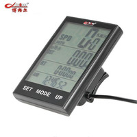 Bicycle Computer Wired and Wireless Cycling Computer Speedometer Odometer Temperature Backlight Water Resistant Riding Cycling