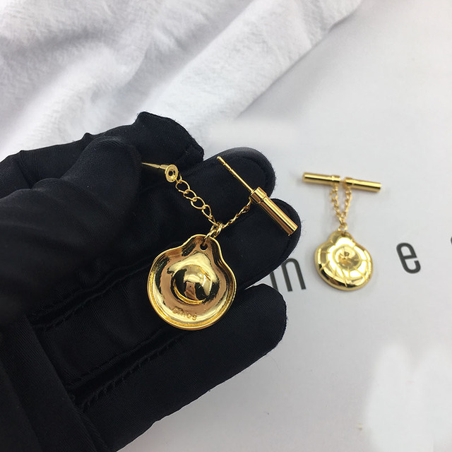 2019 Trendy geometric disc and rod - shaped Pin earrings earrings kolczyki kupe