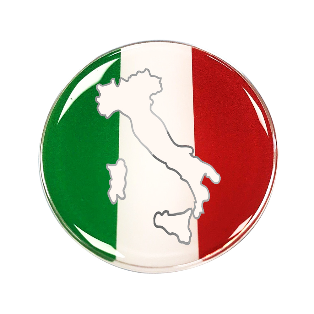 3D Motorcycle Tank Decals Italy Flag Italia Resin Stickers Case For Aprilia Ducati Vespa GTS GTV 250 300 LX S 125 Decals