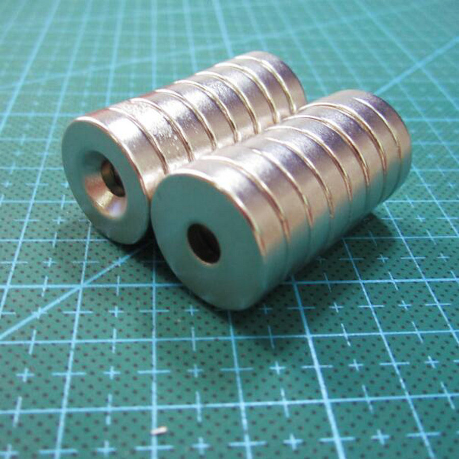 Super strong magnets for crafts - Free Shipping Super Strong 2pcs N35 20 X 5mm Hole 5mm Small Round Ring Permanet Magnets Block Craft Rare Earth Neodymium 20 5 5