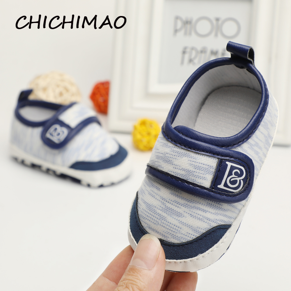 1b60e31fd47d Bebes Fashion Baby Shoes Kid Boy Girl Moccasins First Walker Anti slip Soft  Sole Canvas Toddler Shoes Crib Sneaker for Spring -in First Walkers from  Mother ...