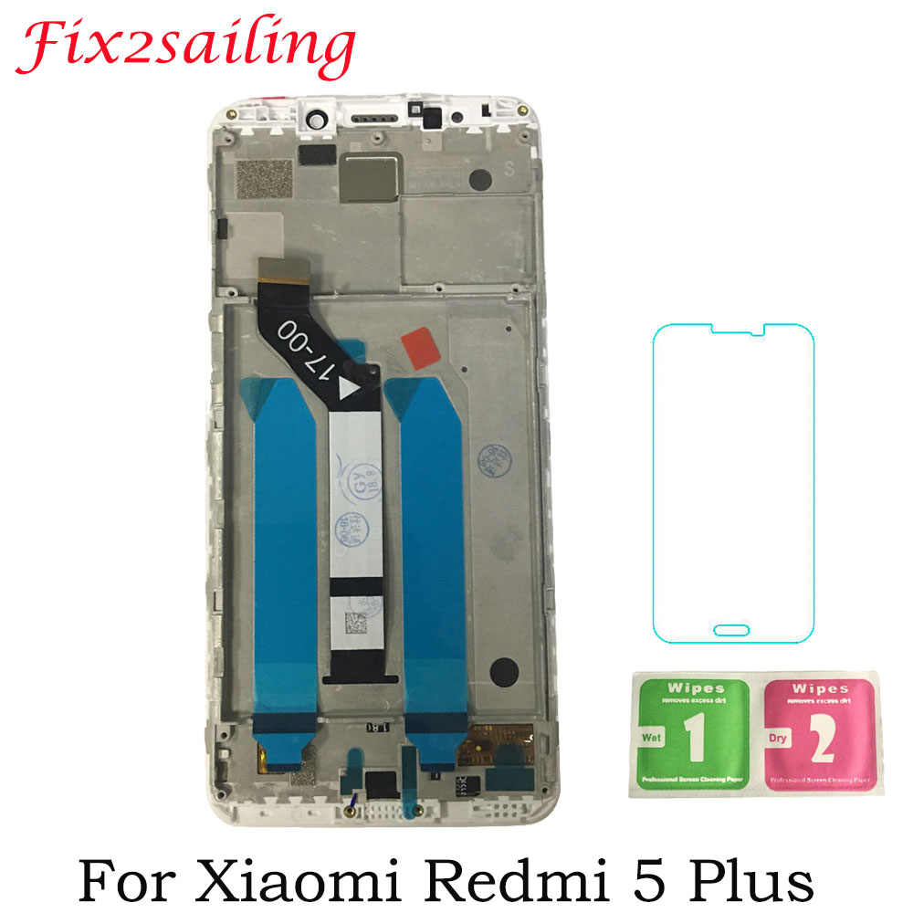 5.99inch New Display Screen For Xiaomi Redmi 5 Plus LCD Display + Touch Screen Assembly Frame For Redmi 5 Plus LCD