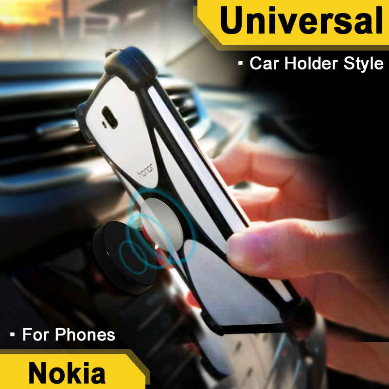 For Nokia 7 plus case Traffical case For Drivers For For Nokia 6.1 Elastic Car Holder Fo ...