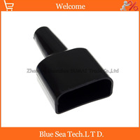 New Battery waterproof Plug sheath 2P UPS dust cable sheath/cover black for Anderson 2 Pin 50A 600V Power connector cable 2 pin cover coverscover for cable -
