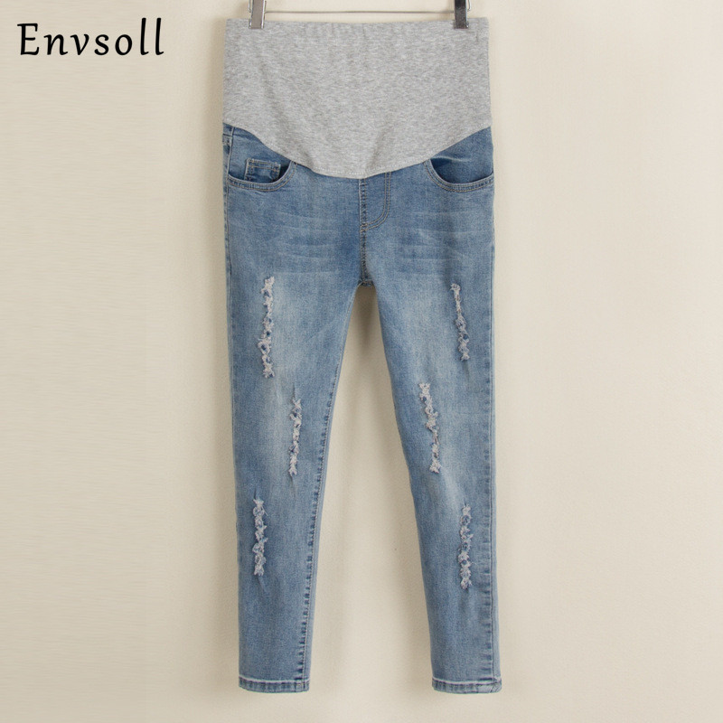 2017 New Maternity Jeans Summer Winter Multi-style Jeans Pants for Pregnant Women Elastic Waist Jeans Pregnant Pregnancy Clothes rosicil style jeans women 2017 new fashion spring summer women jeans skinny holes denim harem pants ripped jeans woman tsl071