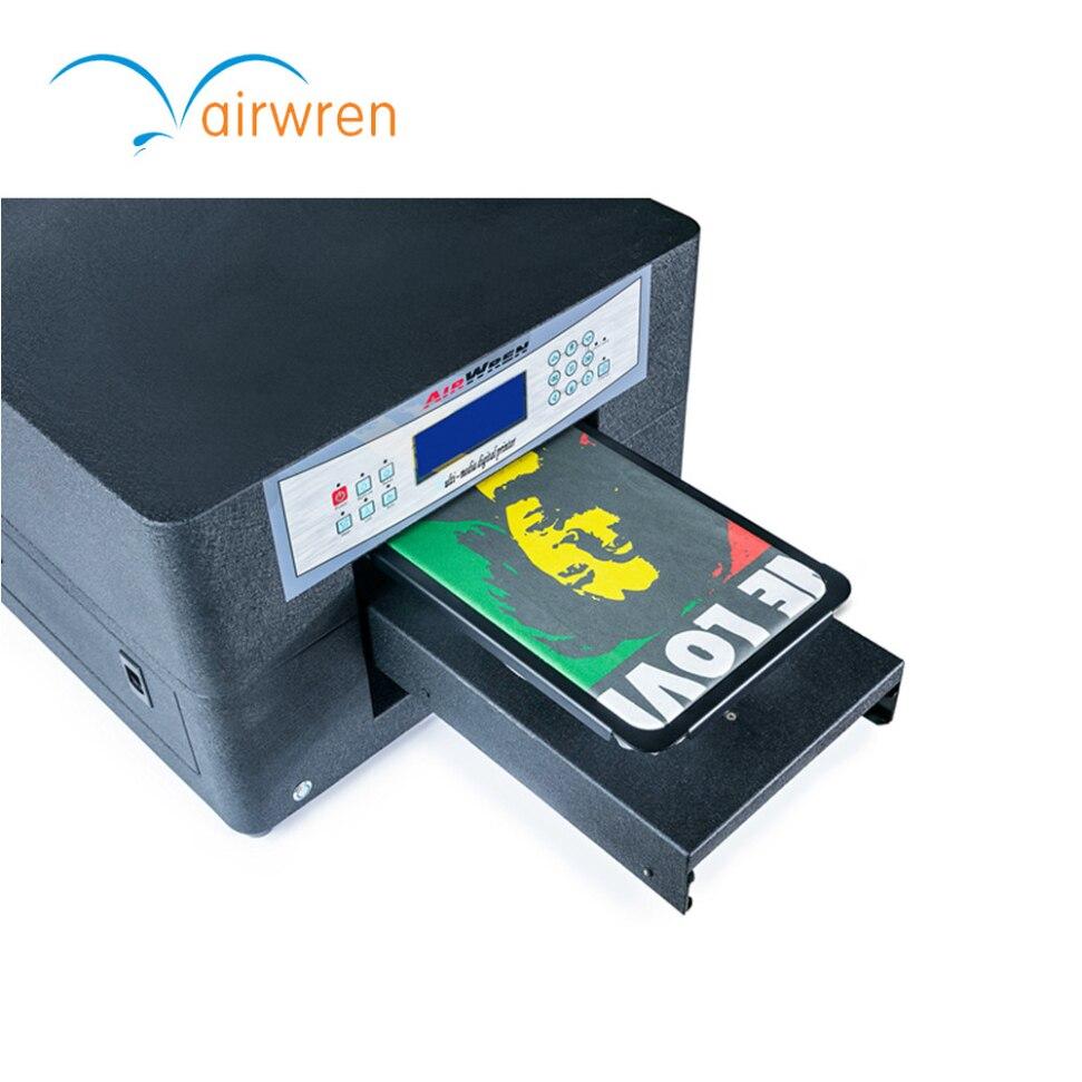 A4 Print Size Digital Inkjet Textile Printing Machine Multifonction T Shirt Printer For HAIWN T400 DTG