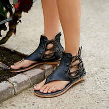 hot ladies sandals summer shoes woman flat gladiato