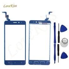 Lovekiss Pantalla Táctil de Alta Calidad Para Lenovo K6 Potencia K6 Nota Pantalla Táctil Frontal Lente de Cristal de Panel Táctil Digitalizador Sensor de Herramientas