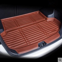 Rear Trunk Fit For Mitsubishi Outlander 2013-2017 Boot Liner Cargo Mat Tray Floor Carpet Mud Kick Protector 2014 2015 2016