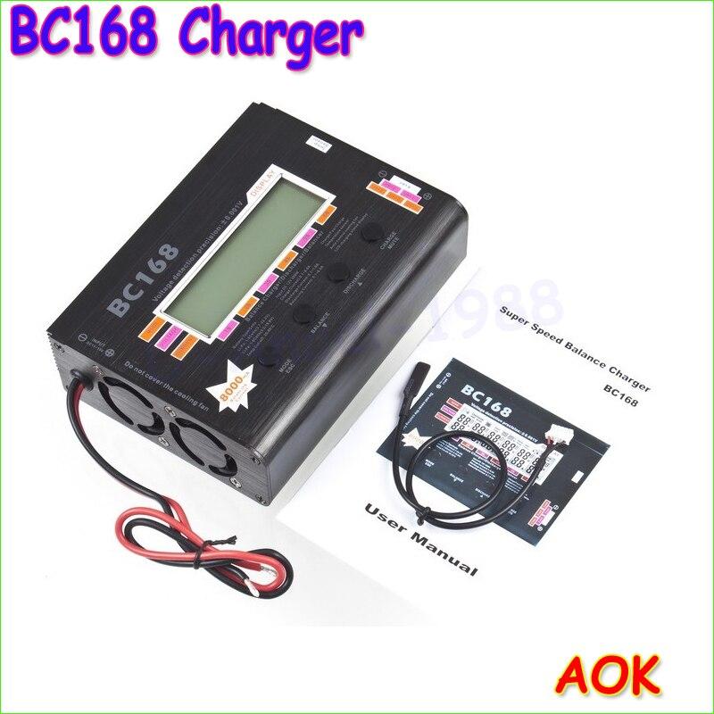 Wholesale 1pcs  BC168 1-6S 8A 200W Super Speed LCD Intellective Balance Charger/Discharger rc helicopter part Dropship доска для объявлений dz 1 2 j8b [6 ] jndx 8 s b