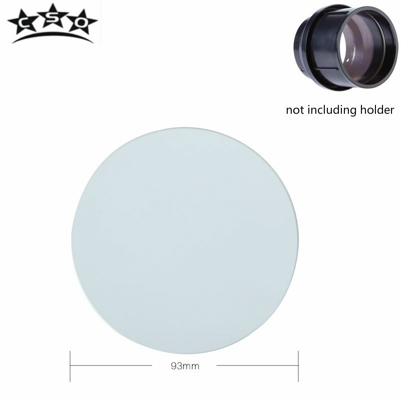 CSO Telescope Astronomic Professional Mirror Accessories D93 F800 Objective Lens Doublet Broadband Multilayer Film Primary Top