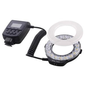Image 2 - Capsaver anel de luz de led macro, 18 peças, smd, para pentax, canon, nikon, sony, olympus, panasonic, speedlite, display lcd, cri 90 RF 600D