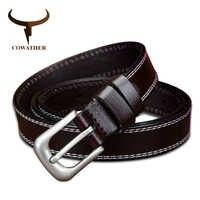 Capot en cuir véritable ceintures pour femmes 2.2 cm largeur coloré fille sangle dame fantaisie peau de vache luxe femme ceinture livraison directe