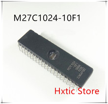 10PCS/LOT M27C1024-10F1 M27C1024 27C1024 CDIP IC
